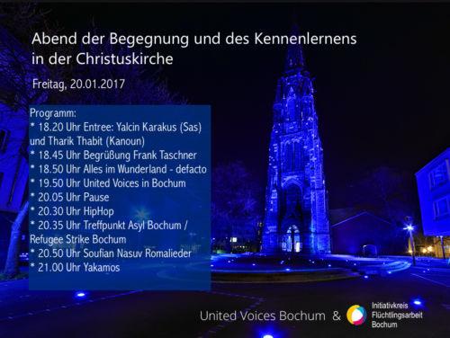 Momente des Kennenlernens in der Christuskirche Bochum