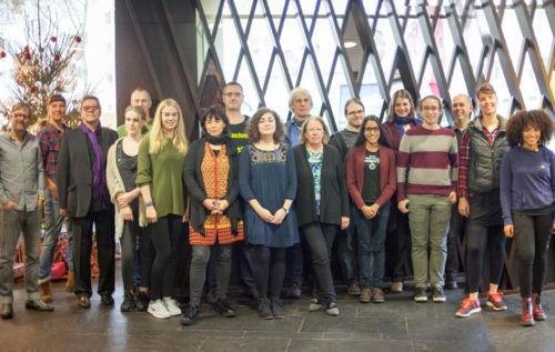 Amnesty International Bochum - Kunstauktion Team 2016