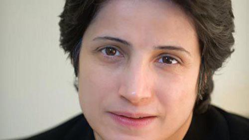 Die iranische Menschenrechtsanwältin Nasrin Sotoudeh