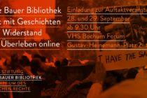 Flyer Fritz Bauer Bibliothek